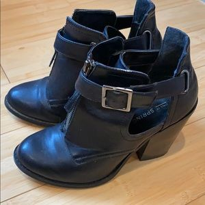 Call it Spring  Cut Out Ankle Boots